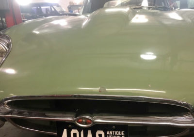 After Antique Dent Repair