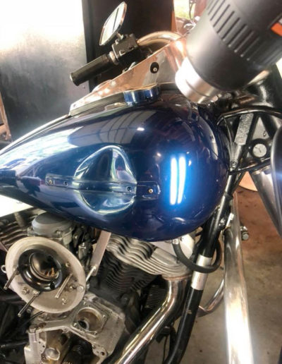 Motorcycle Dent